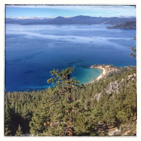 View from Tahoe Rim Trail