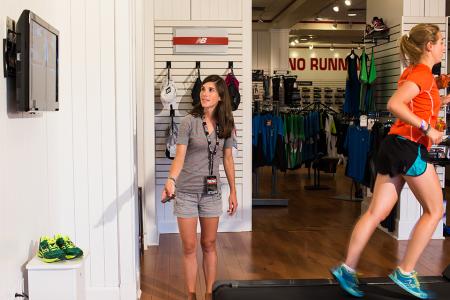 free gait analysis in-store