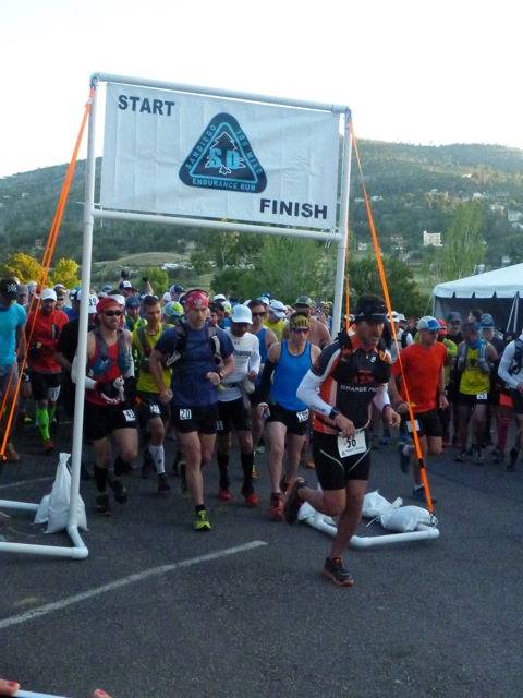 Start of the San Diego 100. Photo by Chris Michele