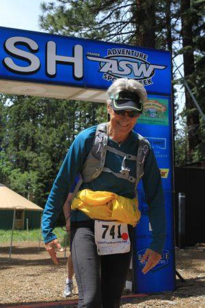 Burton Creek Half Marathon Finish