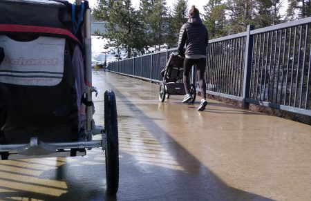 Stroller Run @ Legacy Trail East River St Trailhead