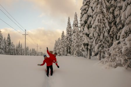 Powerline Snowshoe Run @ Paved bike path trailhead at the entrance to Tahoe Donner (next to Coyote Moon Gold Course)