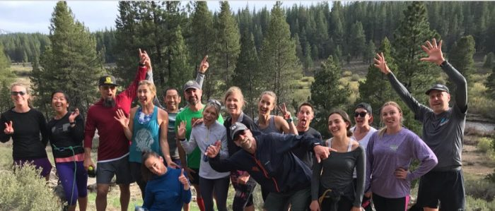 4th session of DPMR Newbies Run Club Co-hosted by Tahoe Mountain Sports @ Emigrant trail