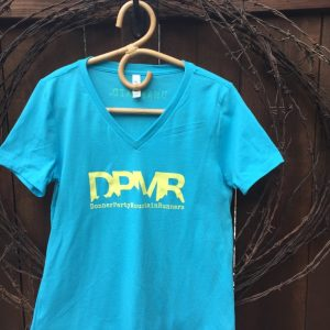 Women's casual DMPR blue tee