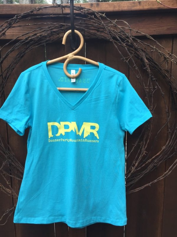 Women's casual DMPR blue tee