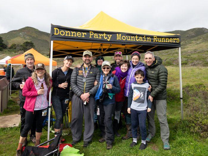 DPMR Aid Station at Canyons Endurance Run