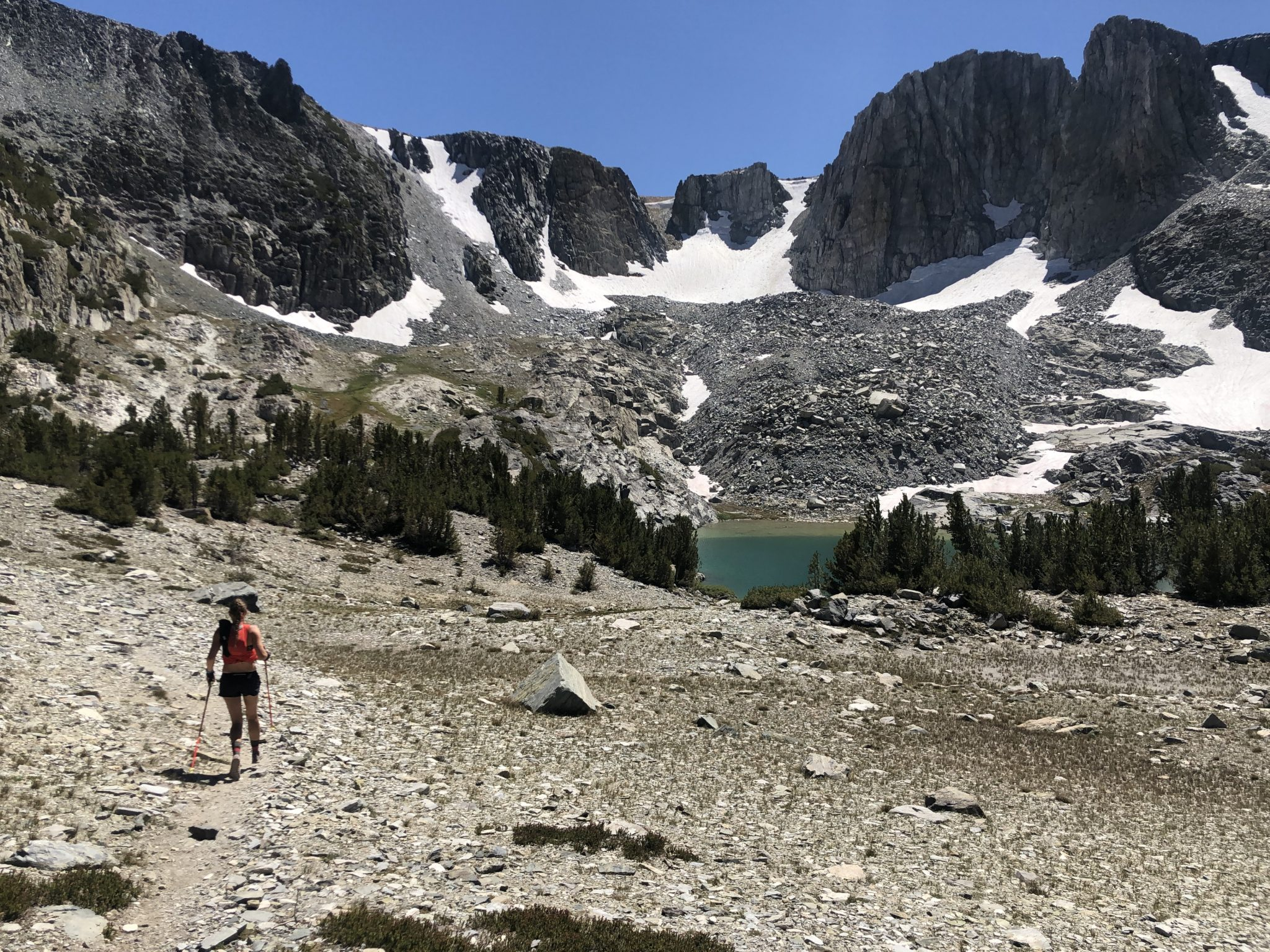 Deer Lakes, Mammoth Crest Trail